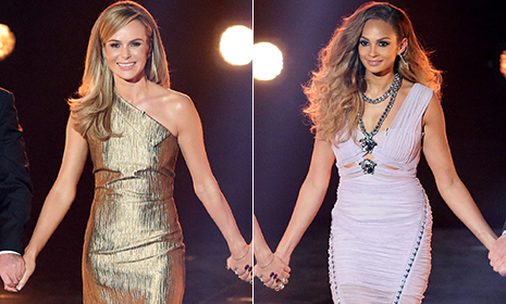Britain's Got Talent fashion vote: Day 5 - Alesha Dixon vs Amanda Holden