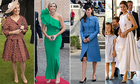 Princess Letizia, Princess Marie and the Duchess of Cambridge: Gallery of the week's best royal style