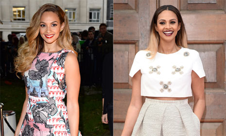 Alesha Dixon: 'I'm happy in my own skin'