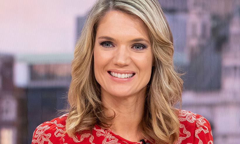 Charlotte Hawkins stuns in head-to-toe orange on Good Morning Britain – but still looks so chic!