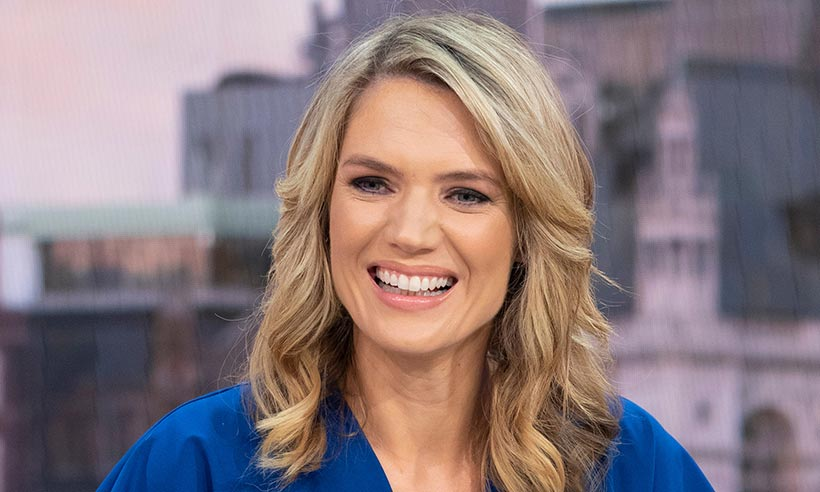 Charlotte Hawkins just wore a top with cherries on it - and it's a delicious high street buy