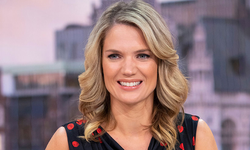 Charlotte Hawkins loves this polka dot dress so much she's worn it twice