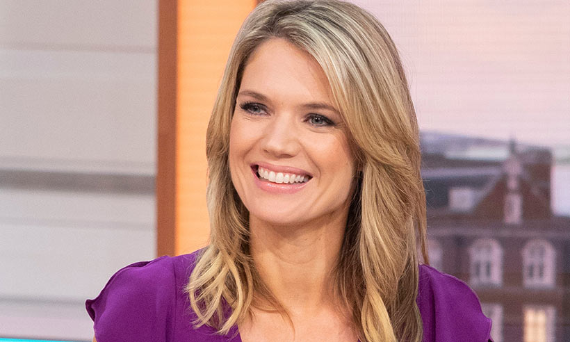 Charlotte Hawkins' green mini dress sends fans into a melt-down!