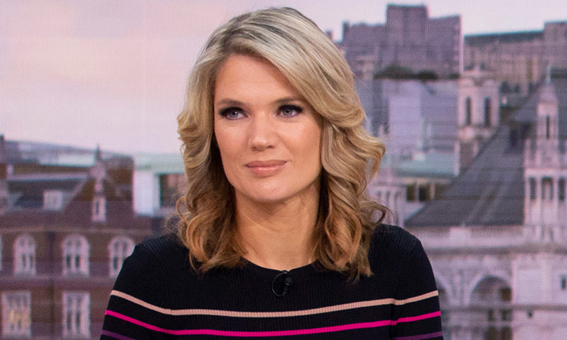 Holly Willoughby's sell-out £79 jumper dress has had a redesign – and Charlotte Hawkins just wore it on GMB!