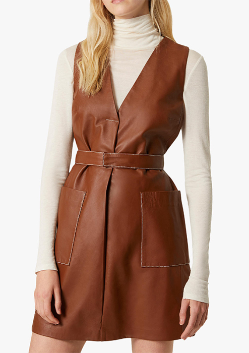 brown-leather-dress-french-connection-john-lewis