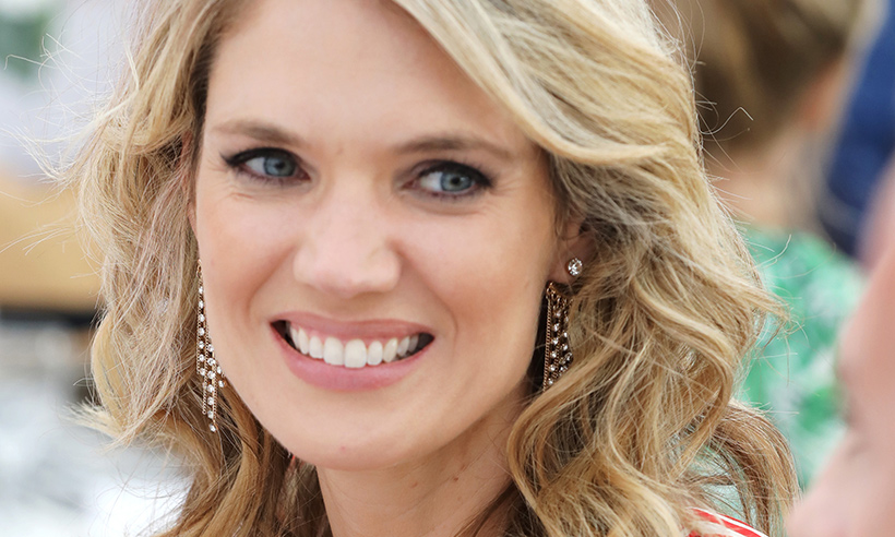 Charlotte Hawkins just wore the most amazing ball gown and she looked like an actual princess