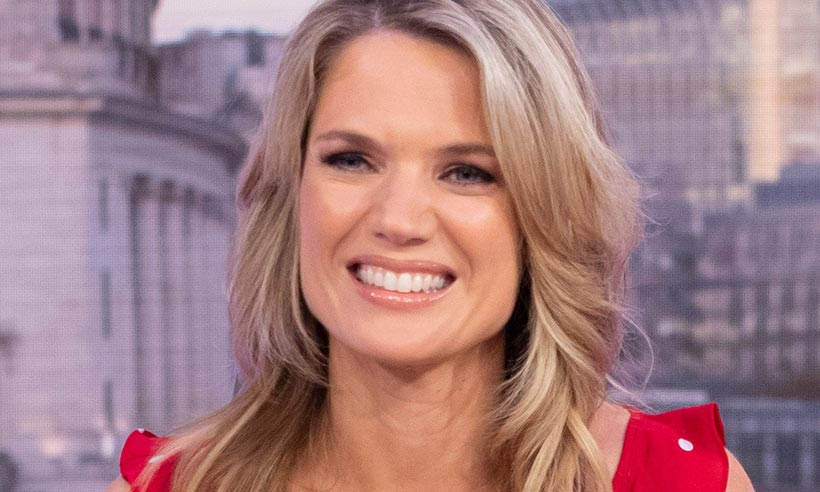 Charlotte Hawkins' lace dress looks like a designer number – but it's a Marks & Spencer steal