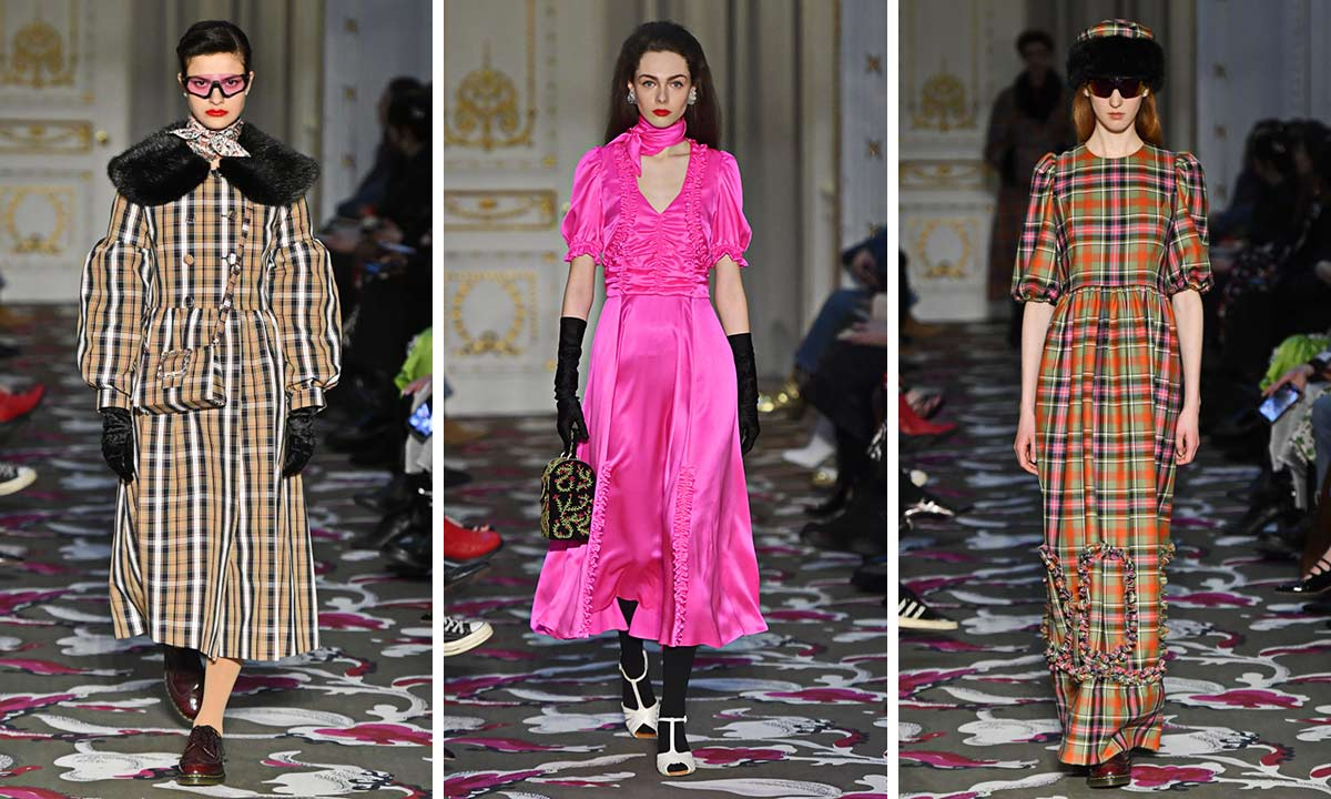 Shrimps royal-inspired London Fashion Week show was influenced by The Queen, Princess Margaret and Princess Diana