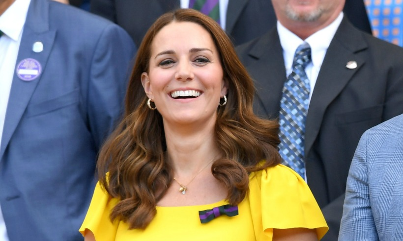 Kate Middleton Looks Ready For Valentines Day In Heart