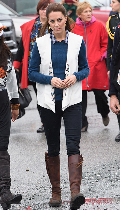 Are These Boots Kate Middletons New Favorite? - Footwear News