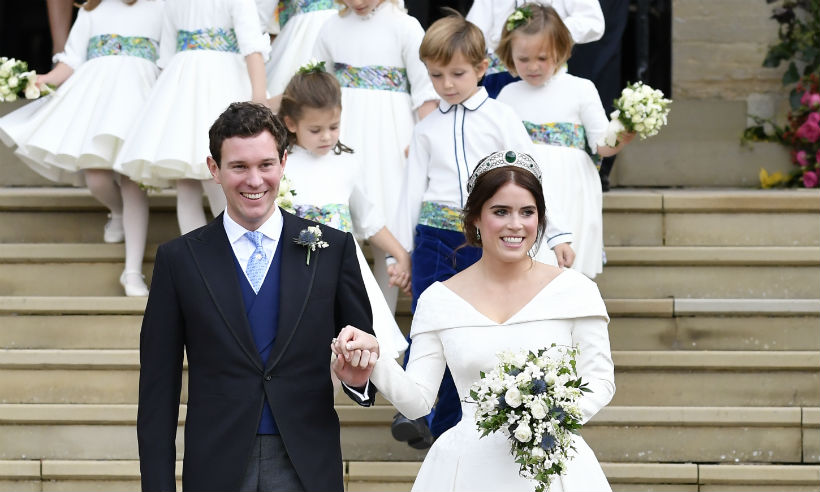 Zac Posen has just revealed some previously unseen details about Princess Eugenie's second wedding gown – and they're stunning