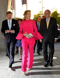queen maxima wearing gucci
