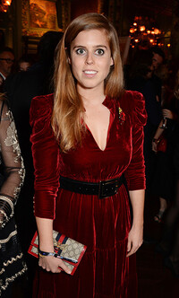 princess beatrice wearing a gucci bag