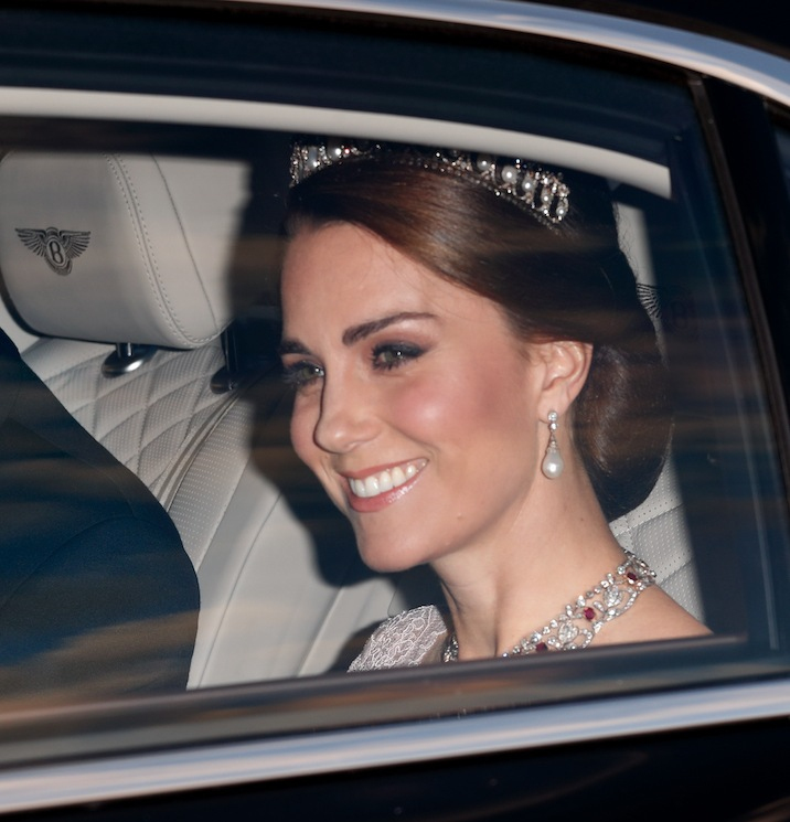 Duchess Kate's most stunning state banquet gowns over the years