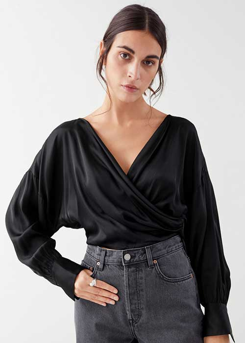 & Other Stories Sleeve top