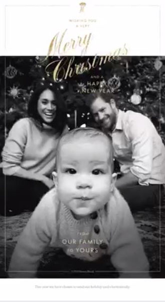 harry-meghan-archie-christmas-card