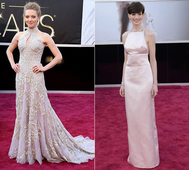 Anne Hathaway Gown: Les Mierables Star Amanda Seyfried Denies That Her And