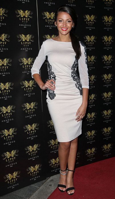 Newly engaged Michelle Keegan wins best actress at TV ...