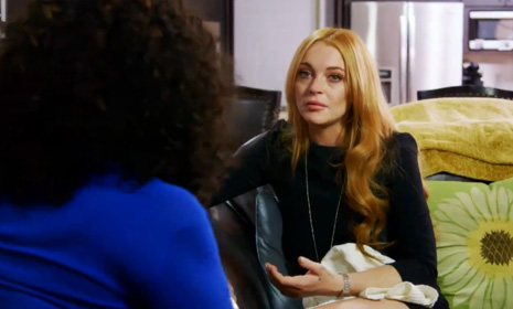 Oprah Winfrey has stern words for Lindsay Lohan after difficult behaviour threatens reality show