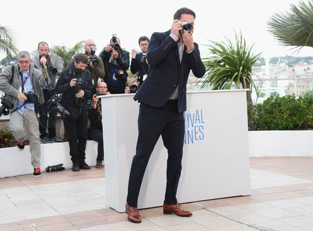 Channing Tatum turns photographer in Cannes