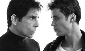 Justin Bieber confirms Zoolander 2 role with blue steel picture
