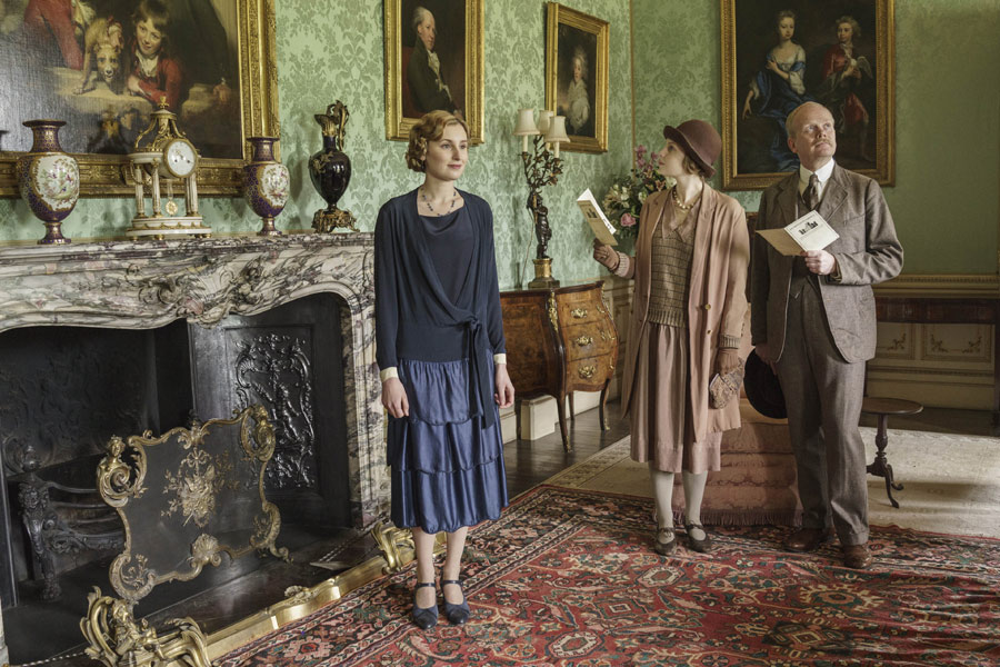 Downton Abbey: Lady Mary and Henry Talbot kiss - Photo 7