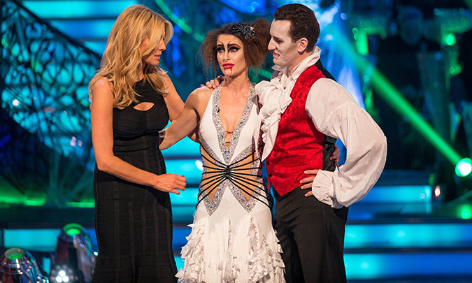 Kirsty Gallacher is voted off Strictly Come Dancing