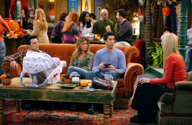 Friends still Central Perk