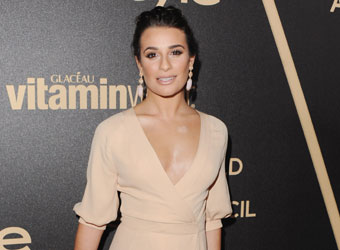 Sparkle like Glee's star Lea and get an A-list glow this party season