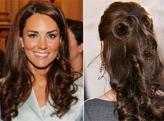 Tumbling tresses: Christmas party hairstyle ideas