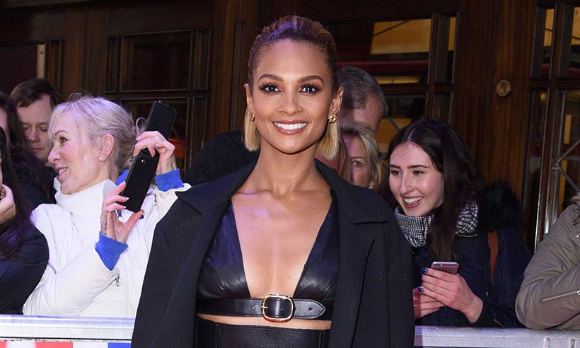 Alesha Dixon admits she didn't expect her bob to be 'so short'