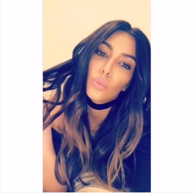 Kim Kardashian debuts new ombré hairstyle in time for spring - Photo 3