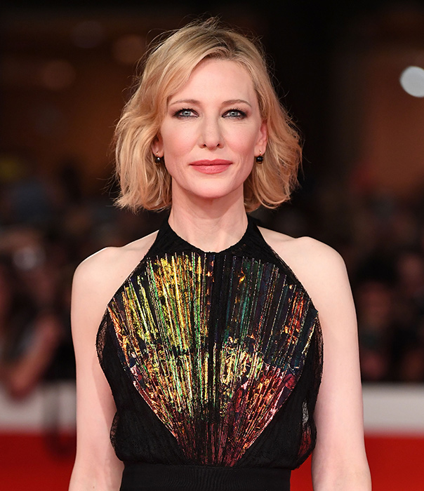 Cate Blanchett Goes Brunette, Debuts New Look at BAFTAs