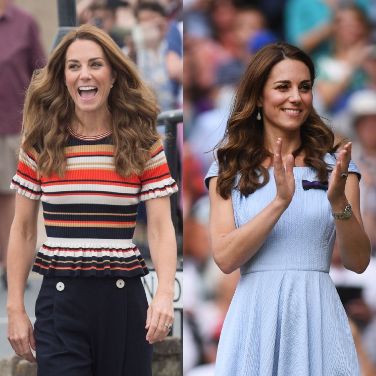 Duchess Kate rocks a lighter hair look! See her colour changes over the years, from blonde to brunette