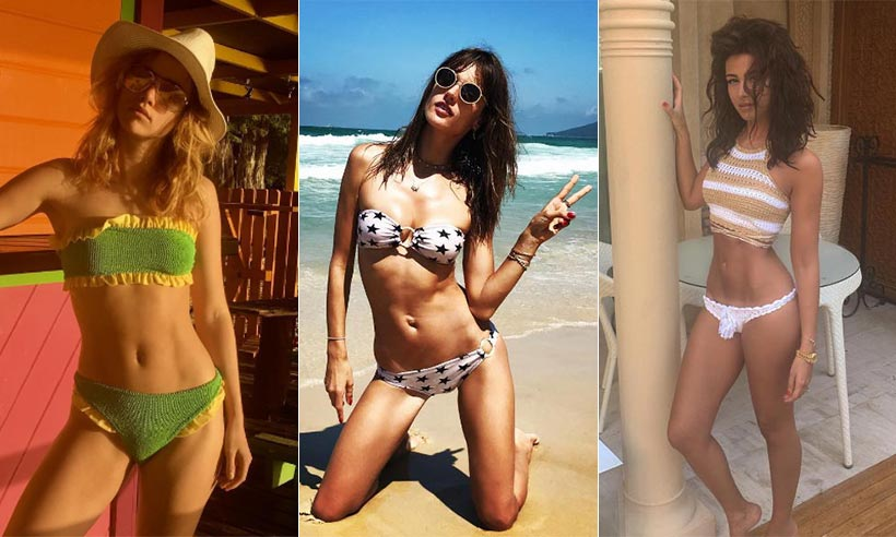 The best celebrity bikini body inspiration
