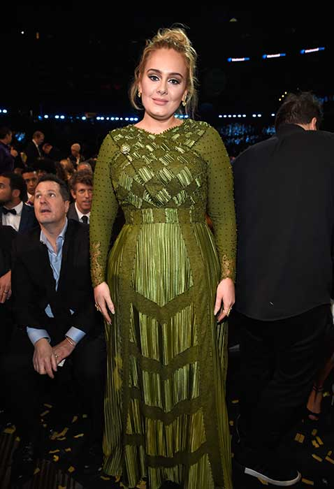 Adele showcases seven stone weight loss at Jay-Z and ...