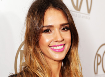 Pull off hot pink a la Jessica Alba and co