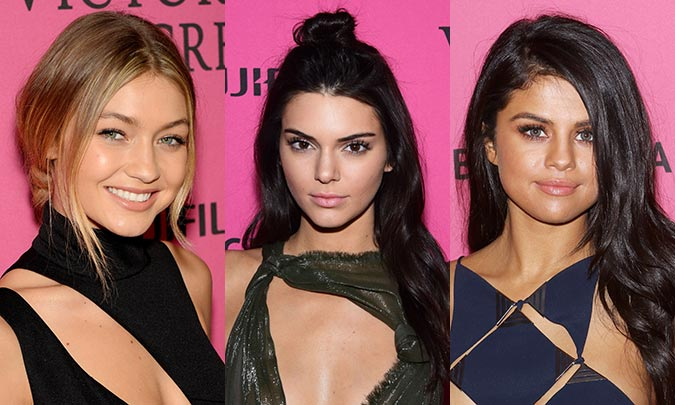 The most glamorous beauty looks at the Victoria's Secret party