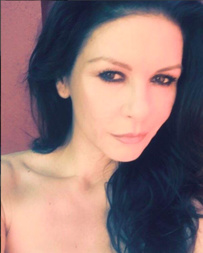 Catherine Zeta-Jones r... Catherine Zeta Jones Instagram