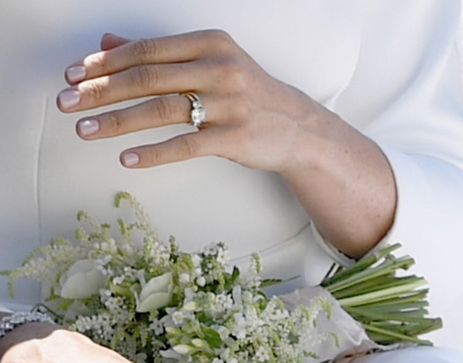 Is This The Nail Colour Meghan Markle Wore To Marry Prince