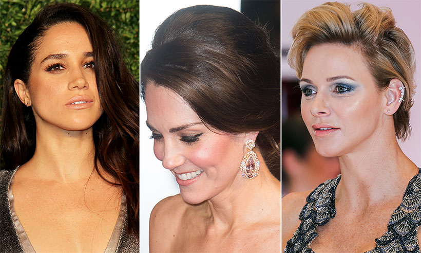 When the royals go glam! NYE hair and beauty inspiration from Kate Middleton, Meghan Markle, and MORE