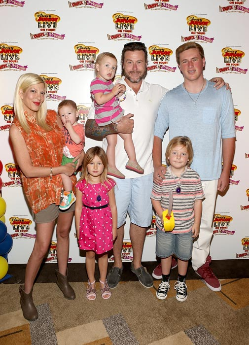Tori Spelling: 'I lied about how I lost my baby weight'