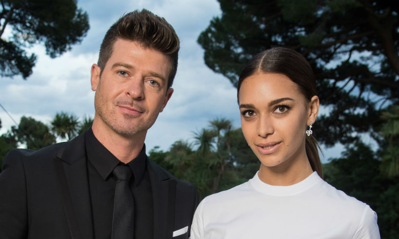 Robin Thicke Daughter Robin Thicke, 40, welc...