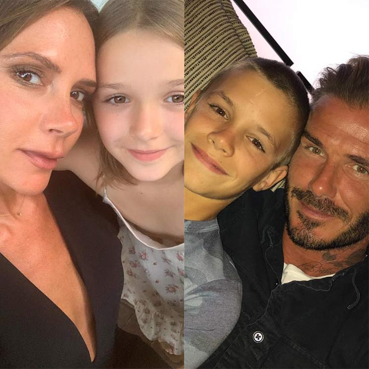 Parenting tips for the summer holidays, according to the Beckhams