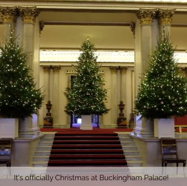The Queen has transformed Buckingham Palace for Christmas ...
