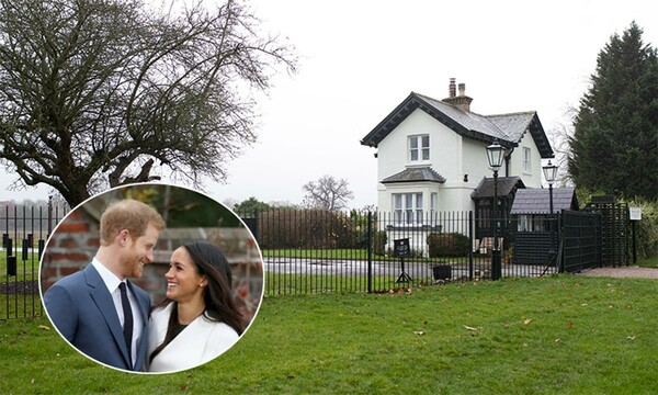 Prince-Harry-and-Meghan-Frogmore-House