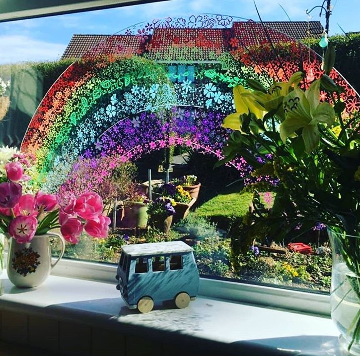 21 beautiful rainbow displays to put a smile on your face during coronavirus