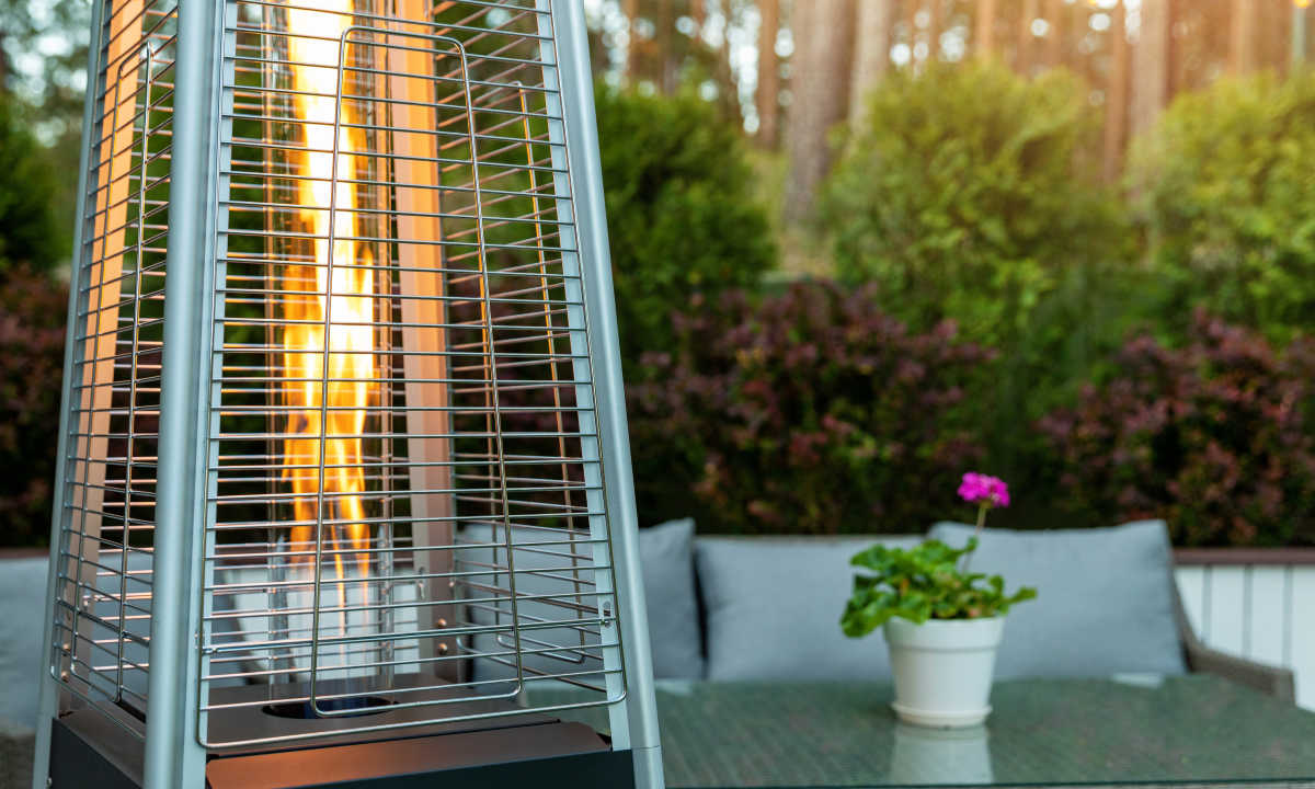 Outdoor heaters become terribly scarce