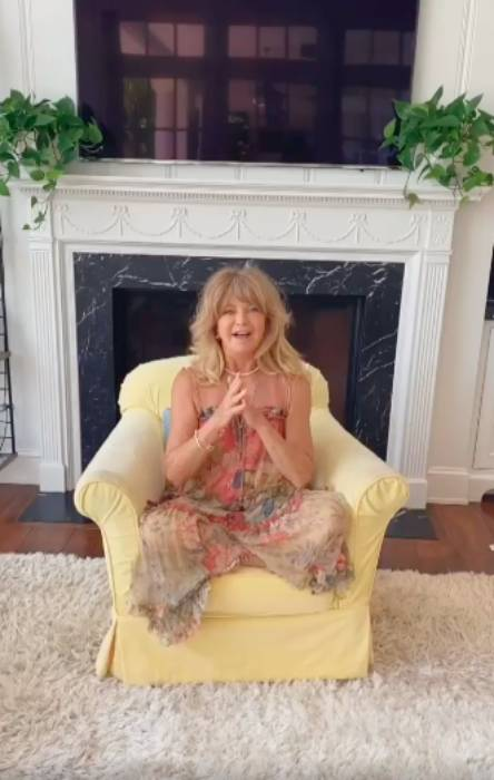 Goldie Hawn shares glimpse inside her and Kurt Russell's ...