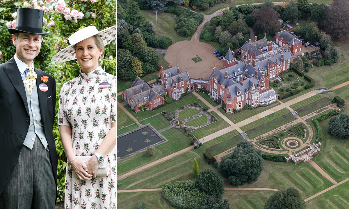Prince Edward and Sophie Wessex's home could be a Disney castle - see inside